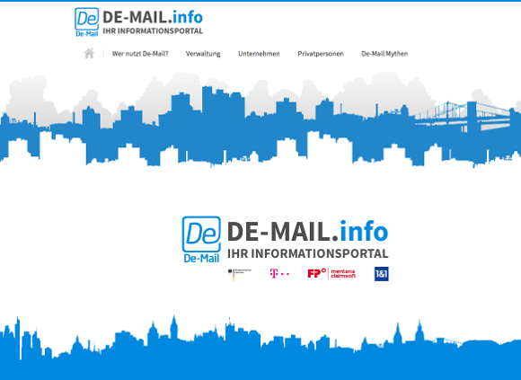 De-Mail.info - Screenshot